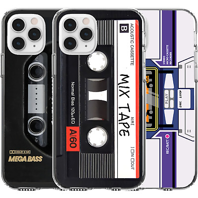 AU16.95 • Buy Silicone Cover Case Cassette Mixtape Funny Meme Retro Tape Old Childhood Memory