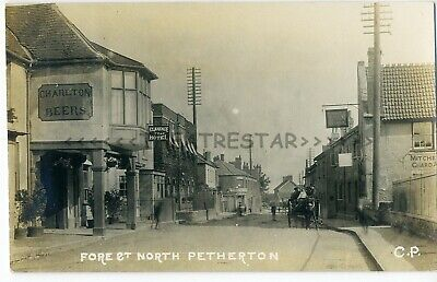 £30 • Buy RP NORTH PETHERTON Fore Street North CHARLTON BEERS Horse+Cart By CP Somerset
