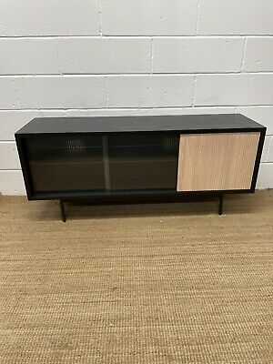 £425 • Buy John Lewis Fluted Glass Sideboard ** Free Delivery **