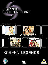 £8.95 • Buy Robert Redford Screen Legends Film Collection Out Of Africa Etc Boxset 4 DVD