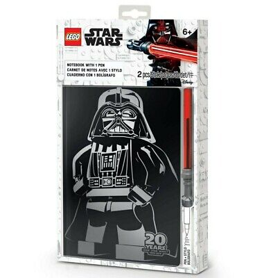 £19.99 • Buy ⭐ LEGO Gear Star Wars Notebook With Lightsaber Gel Pen 20th Anniversary 5005838