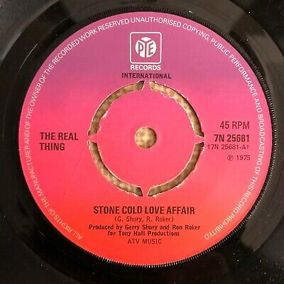 £7.99 • Buy The Real Thing - Stone Cold Love Affair - Pye