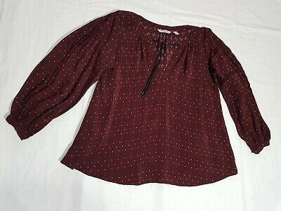 AU35 • Buy Womens Country Road Top Blouse Size S