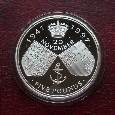 £5.50 • Buy UK 1997 Silver Proof 5 Pound Coin