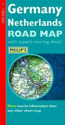 £3.15 • Buy Philip's Road Map Of Germany And The Netherlands Sheet Map, Folded Book The