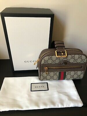 AU750 • Buy Gucci Ophidia GG Supreme Small Belt Bag Size 95 Pre-Owned In Excellent Condition