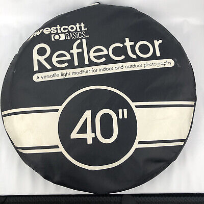 """£7.26 • Buy Westcott Photo Basics 40"""" 5-in-1 Collapsible Reflector EXCELLENT"""