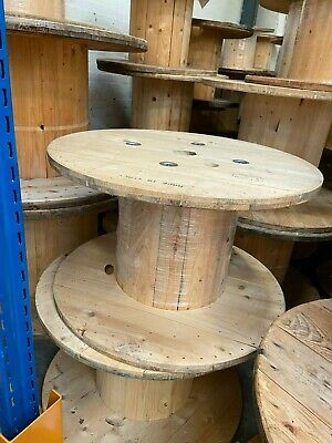 £10 • Buy Wooden Cable Drum's/reel's In Good Condition, Used Once
