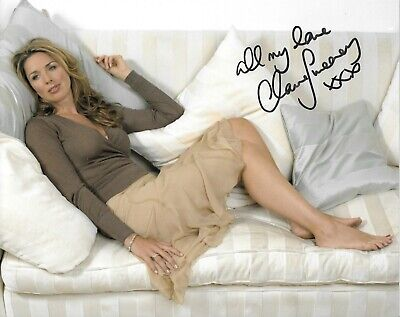 £7.50 • Buy Claire Sweeney Signed 10x8 With COA - Hollyoaks