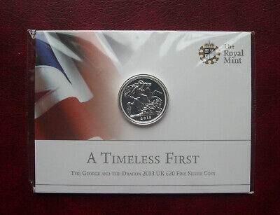 £18.65 • Buy UK 2013 Silver 20 Pound Coin