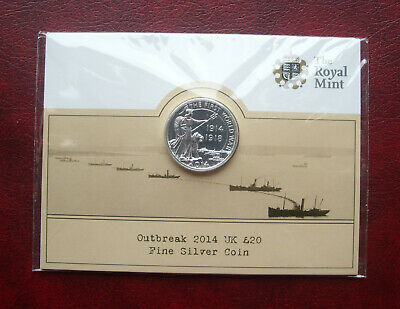 £17 • Buy UK 2014 Silver 20 Pound Coin