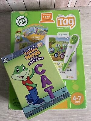 £7.99 • Buy Leap Frog ~ Tag Learn To Read ~ Book Set 2 ~ Talking Words Flash Cards