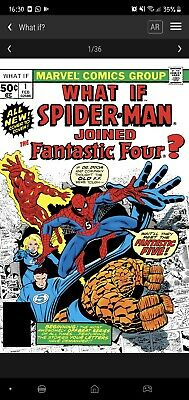 £70 • Buy Veve NFT - What If Spiderman Joined The Fantastic 4? Comic ☆ 1st Edition #23790