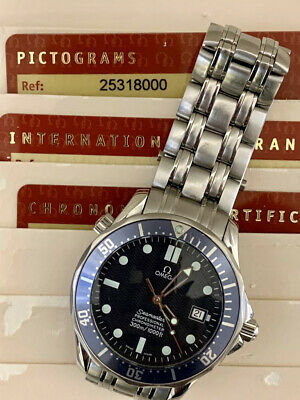 View Details Omega Seamaster 300m Professional Auto Blue Men's Watch - 2531.80.00 41mm • 2,750£