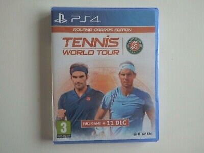 AU18.85 • Buy Tennis World Tour: Roland-Garros Edition On PS4 In NEW & FACTORY SEALED Cond