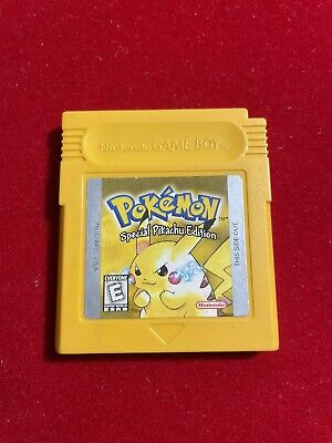 $50 • Buy Pokemon Yellow Version (Game Boy 1999) Authentic (Tested - Works & Saves)