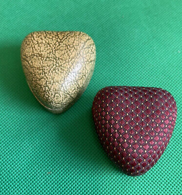 £9.99 • Buy 2 Lovely VINTAGE HEART SHAPED SHAPE RING BOX BOXES