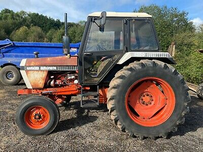 £4995 • Buy DAVID BROWN 1390 2WD Tractor, 5095 Hours, 12 Speed Box  *** WATCH VIDEO ***
