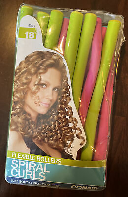AU1.32 • Buy Conair Spiral Curls Flexible Rollers 18ct NEW For Soft Curls That Last