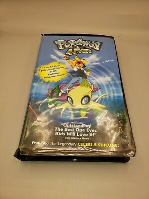 $10 • Buy Pokemon 4Ever (Clamshell Case VHS, 2003) Tested & Works. Fast Free Shipping.