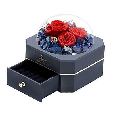 AU36.77 • Buy Valentine Day Gifts For Her, Girlfriend Gift, Preserved Real Rose With Love
