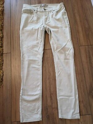 £3.50 • Buy Next Ladies Relaxed Skinny Everyday Cream Jeans, Size 10R