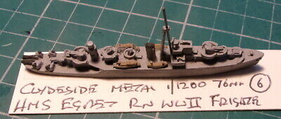 £4.99 • Buy HMS Egret RN WWII Frigate By Clydeside, Scale 1/1200 1/1250 Ship Model