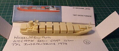 £14.99 • Buy T F L Independence 1978 Singapore Owned Container Ship Scale 1/1250 Ship Model