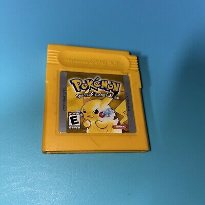 $21 • Buy Pokemon Yellow Special Pikachu Edition (Game Boy, 1999) Authentic TESTED