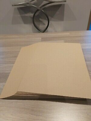 £1 • Buy 20 A4 Kraft Card 500gm /750mic - Ideal For Tags,greeting Cards Place Cards Etc