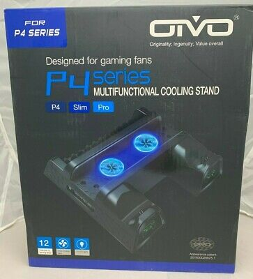 AU6.89 • Buy NEW Oivo P4 Series PS4/Slim/Pro Multifunctional Cooling Stand