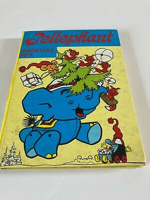 £10 • Buy Pellephant Annual No 1 Brown Watson Ltd Unclipped