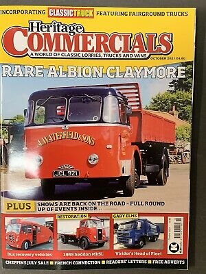 £8.99 • Buy Heritage Commercials Magazine Issue October 2021