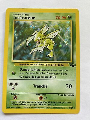 $0.99 • Buy Italian Holo Foil Insecateur Scyther # 10/64 Jungle Set Pokemon Trading Cards SP