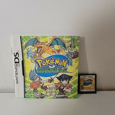 $27.99 • Buy Pokemon Ranger With Manual For The Nintendo DS