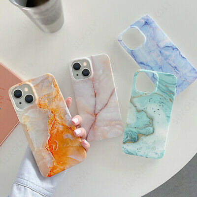 AU4.65 • Buy For IPhone 13 12 Pro Max 11 XR XS 8 7 Colorful Marble Shockproof Soft Case Cover