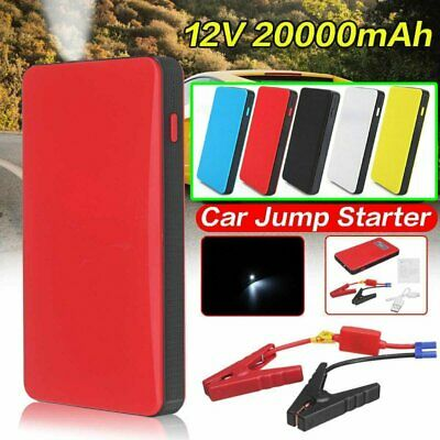 AU39.99 • Buy 20000mAh USB Car Jump Starter Pack Booster Battery Charger Power Bank 400A + LED