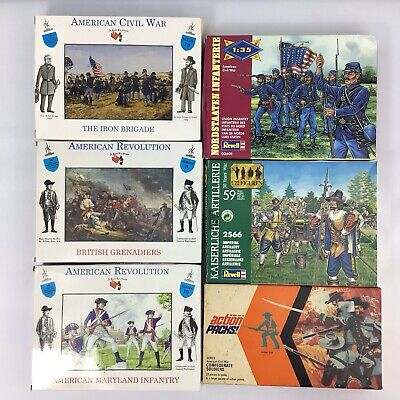 £38.95 • Buy Quantity Assorted Plastic Toy Soldiers Armies In Plastic Action Packs ACW #740