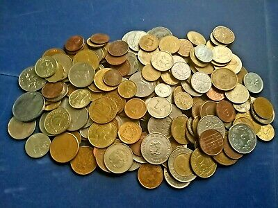 £6.99 • Buy Huge Mixed Bulk Lot Of 60 Assorted World/foreign Coins Free Postage To Uk