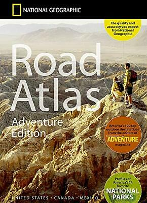 £25.96 • Buy USA / Canada / Mexico Road Atlas Adventure  By National Geographic Maps New Book