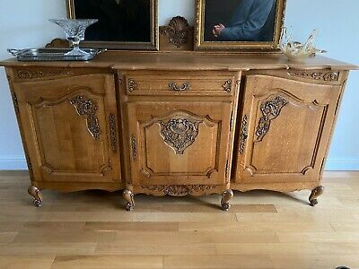 £595 • Buy Beautiful Antique French Solid Oak Sideboard - *professionally Restored*