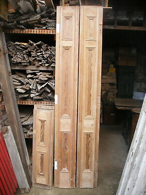 £120 • Buy Impressive Reclaimed Victorian Stripped Pitch Pine Door Frame / Casing