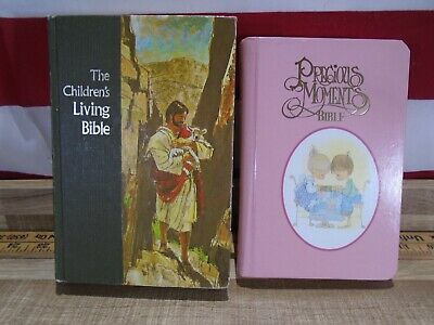 £21.73 • Buy 2 Children's Bibles Precious Moments Small Hands And Tyndale Paraphrased Living