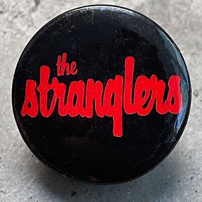 £18.06 • Buy RARE Vintage Early 1980s THE STRANGLERS Button Band Logo Pin Badge Pinback 1.25
