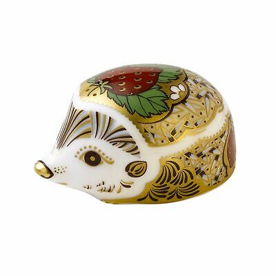 £70 • Buy Royal Crown Derby STRAWBERRY HEDGEHOG Paperweight - New - 1st Quality - Boxed