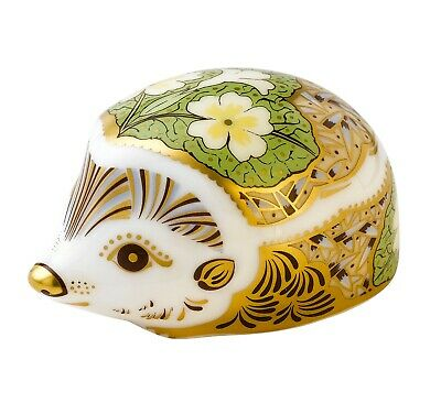 £70 • Buy Royal Crown Derby PRIMROSE HEDGEHOG Paperweight - New - 1st Quality - Boxed