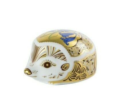 £70 • Buy Royal Crown Derby BLUEBELL HEDGEHOG Paperweight - New - 1st Quality - Boxed