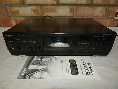 £130 • Buy Technics RS-BX646 3 Head Stereo Cassette Deck With HX PRO + DOLBY NR - Working