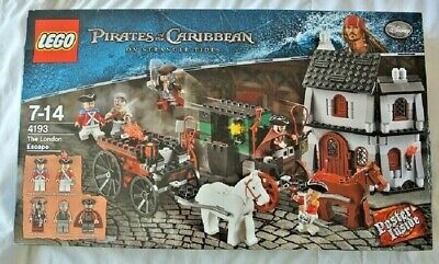£175 • Buy LEGO Pirates Of The Caribbean - The London Escape 4193 BRAND NEW / SEALED