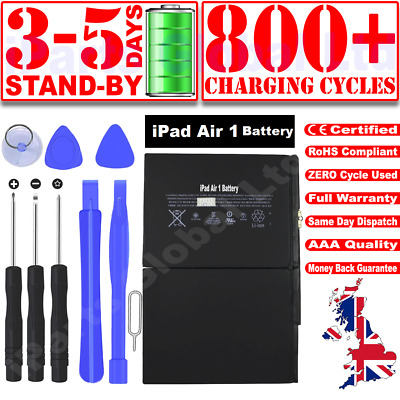 £14.99 • Buy GENUINE Replacement OEM Battery For IPad Air 1 IPad 5 8827mah A1484 A1474 1475